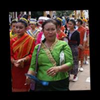 Femme laotienne