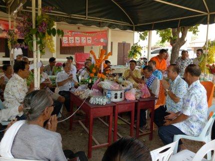 Cérémonie laotienne Baci