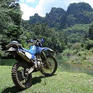 Le Laos a moto - Laos