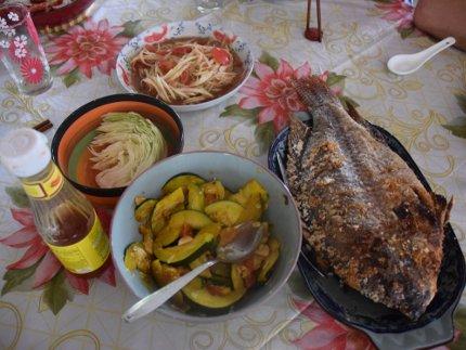 Laos - gastronomie laotienne