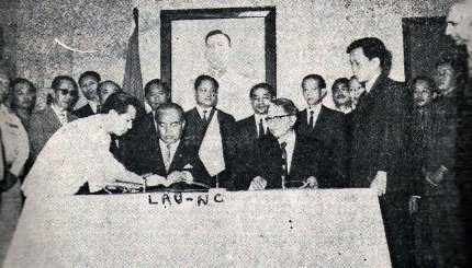 Laos - Accords de Vientiane
