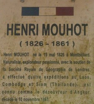 Laos - Henri Mouhot