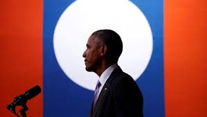 Laos - Visite du président Obama
