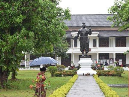 Laos - roi Sivavang Vong