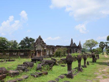 Laos - Le Vat Phou, temple de la montagne