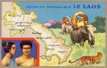 Histoire du Laos - Le Laos découvre l'occident