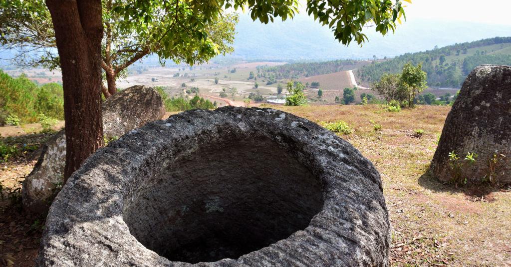 La plaine des jarres - Laos