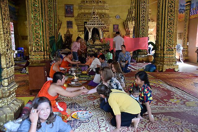 Fête Boun Makha Boussa au Laos.