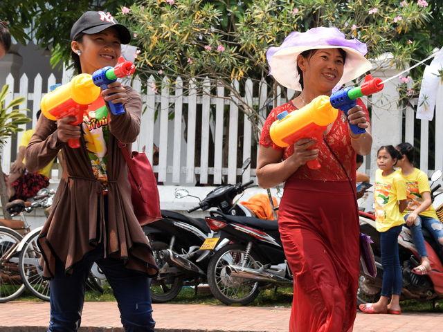 Fête du nouvel an Lao.