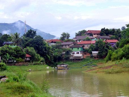 Hôtel de catégorie moyenne au Laos - mnal