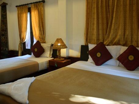 Hôtel de catégorie moyenne au Laos - mpui