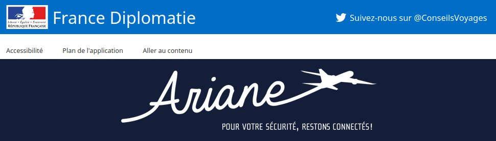 Site internet ariane.