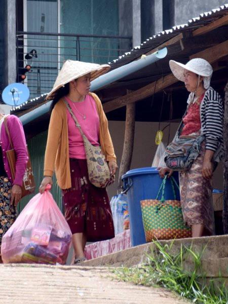 Femmes au Laos.