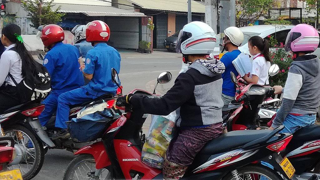 Circulation au Laos.