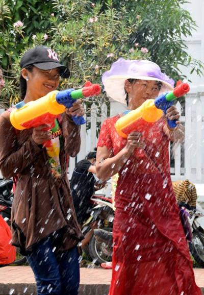 Piimai au Laos.