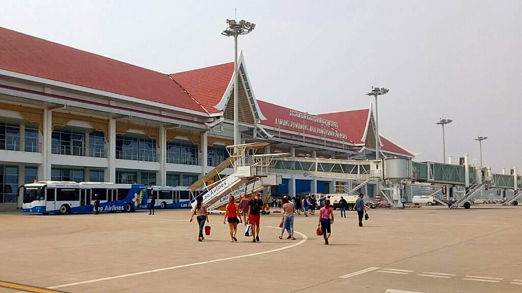 Aéroport de Luang Prabang.