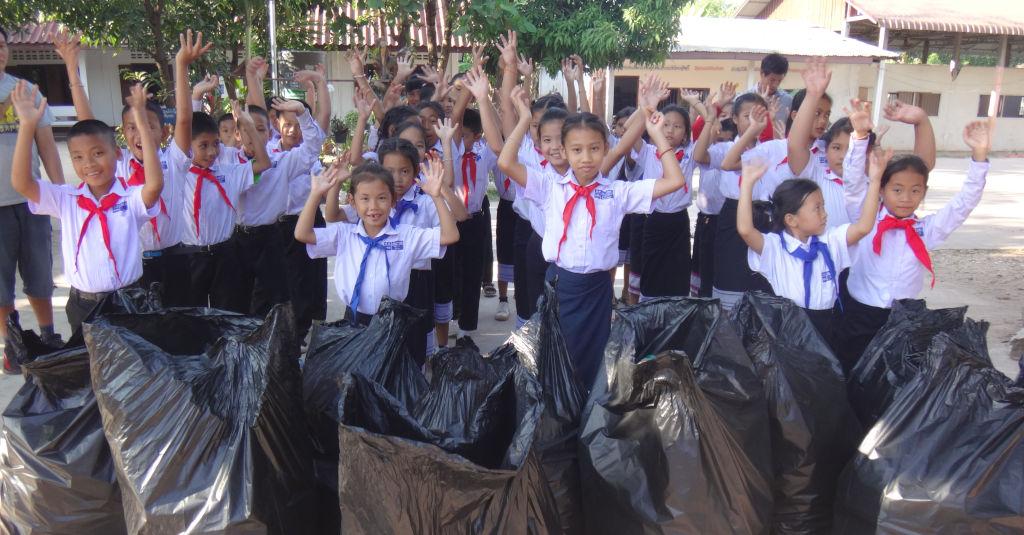 Solidarite climatique au Laos.