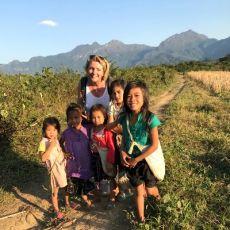 Voyage au Laos, belles rencontres